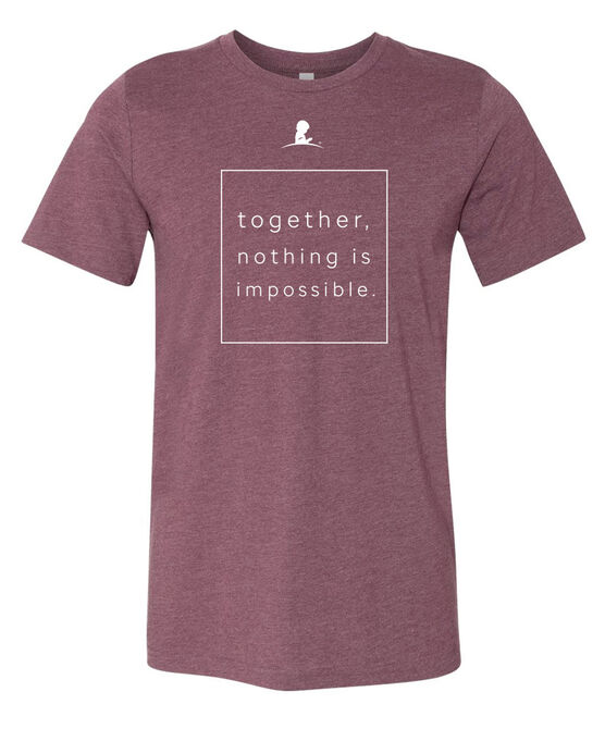 Together Box Maroon T-Shirt
