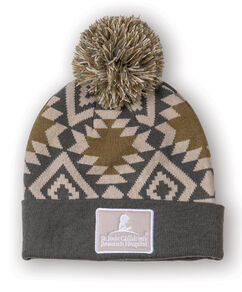 Pom Pom Abstract Design Beanie