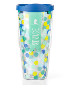 Green & Teal Dot Tervis Tumbler