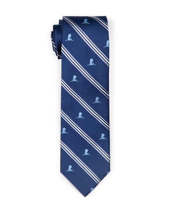 Brooks Brothers Navy Stripe Tie