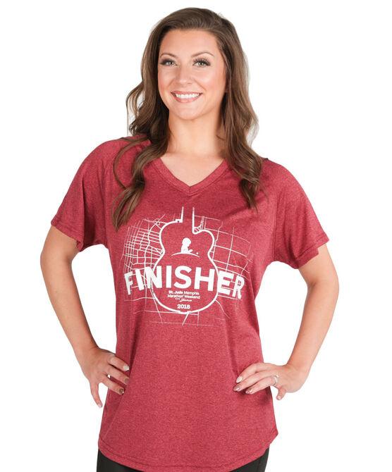 2018 Women's St. Jude Marathon Finisher Shirt