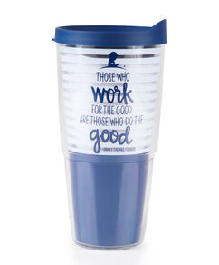 Navy Striped Danny Thomas Quote Tervis Tumbler 24 oz