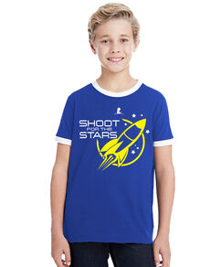 Kids Shoot For The Stars T-Shirt
