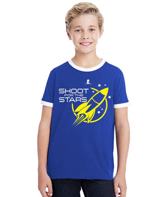 Kids Shoot For The Stars T-Shirt