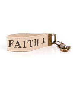 Faith Canvas Key Fob