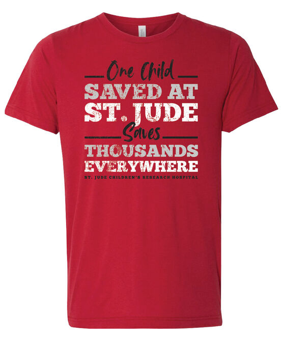 One Child Saved at St. Jude Short-Sleeve T-Shirt