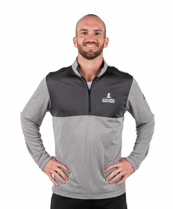 Men's Adidas Quarter Zip Light-Weight Pullover