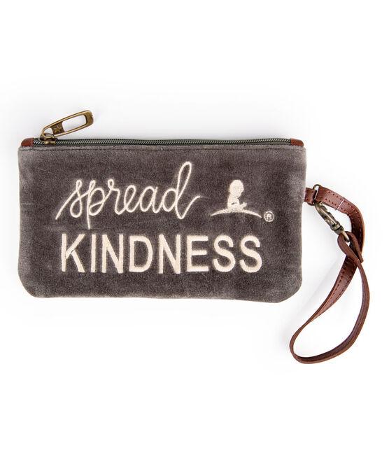 Spread Kindness Velvet Wristlet
