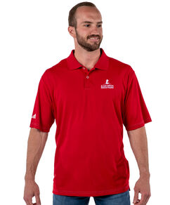 Adidas Performance Red Golf Polo