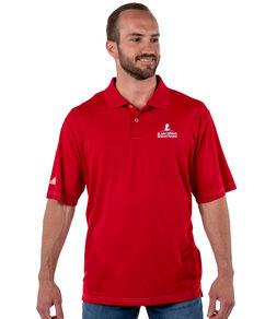 Adidas Performance Red Golf Polo