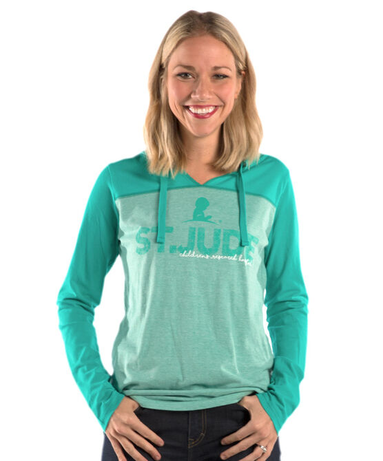 Ladies' Colorblock Hoodie