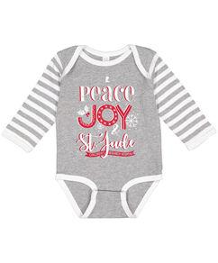 Peace Joy St. Jude Infant Pajama Onesie