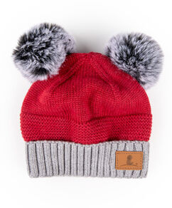 Infant & Toddler Pom Pom Knit Beanie