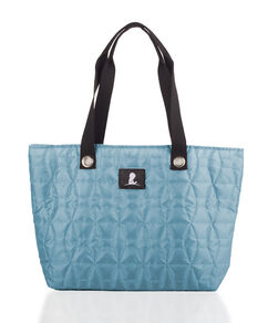 Teal Quilted Tote
