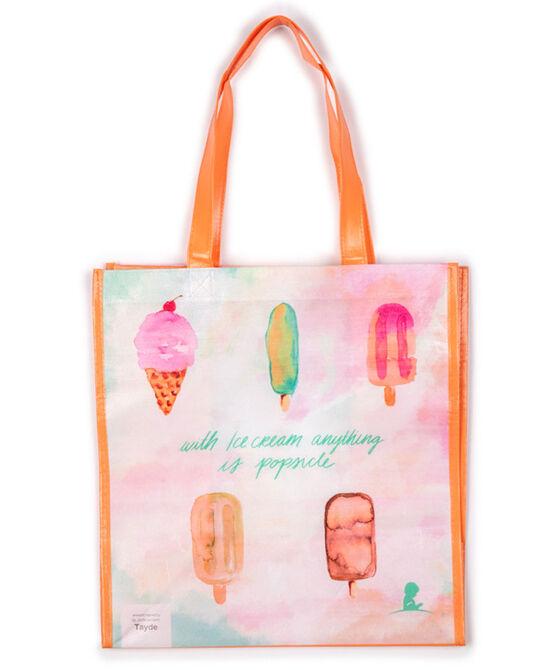 Patient Art-Inspired Sweet Treats Reusable Bag
