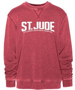St. Jude Red Collegiate Relaxed Sweatshirt