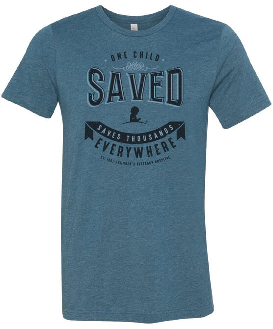 One Child Saved Banner T-shirt