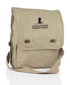 Canvas Field Messenger Bag