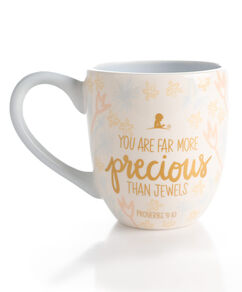 More Precious Than Jewels Ceramic Mug
