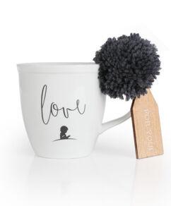Love Pom Pom Ceramic Mug