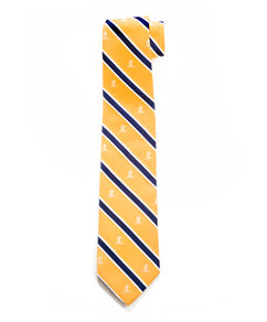 Brooks Brothers Stripe Tie - Gold