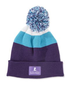 Ladies' Pom Pom Knit Beanie