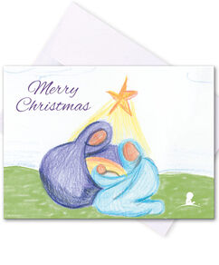 Nativity Honor Cards - Set of 5 Cards