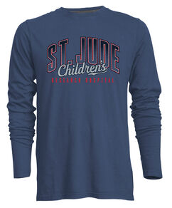 Unisex St. Jude Outline Long-Sleeve Shirt