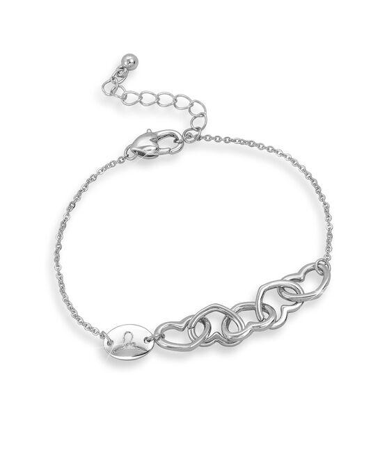 Interlocking Hearts Bracelet