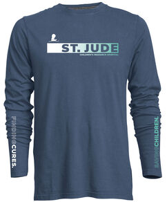 Unisex Blue Finding Cures Long-Sleeve T-Shirt