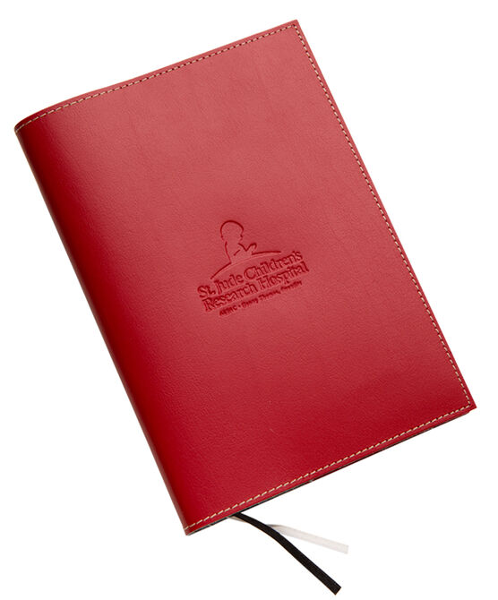 Leather Mini Journal- Red
