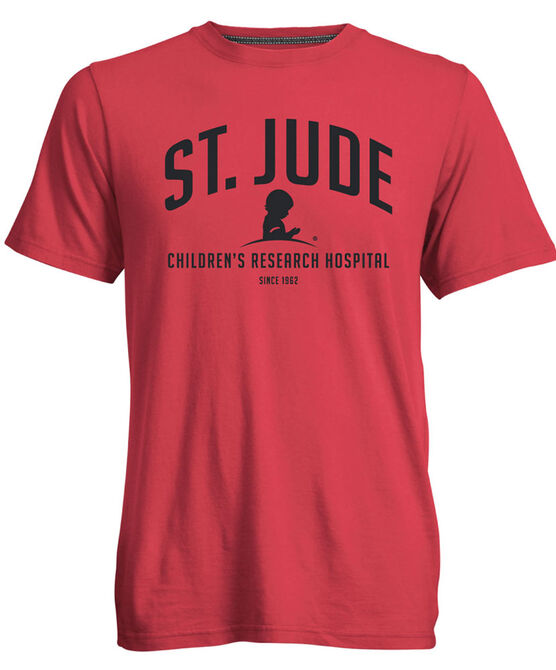 St. Jude Simple Arch Short Sleeve T-Shirt