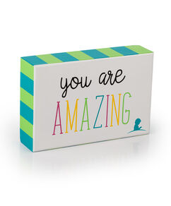 You Are Amazing Box Sign