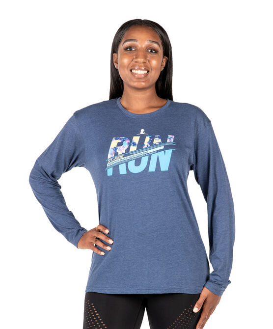 Unisex Patient Art RUN Performance Long-Sleeve