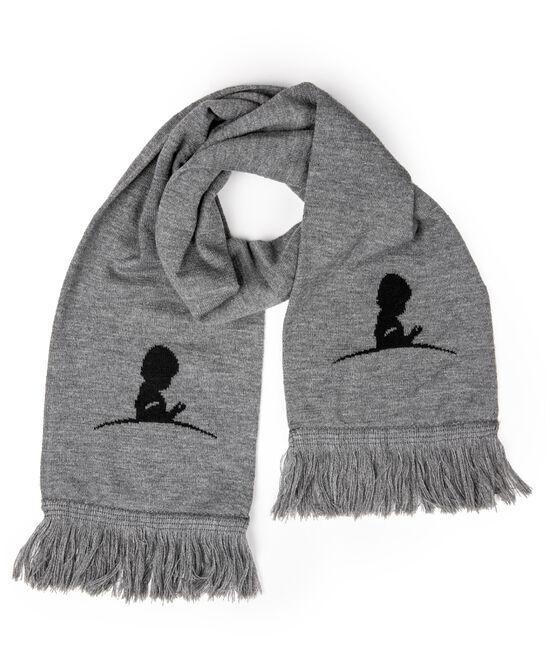St. Jude Grey Knit Scarf