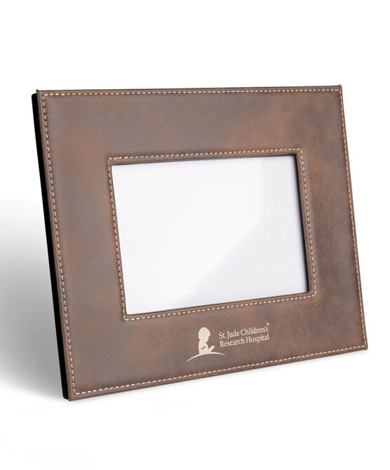 Faux Leather Horizontal Frame