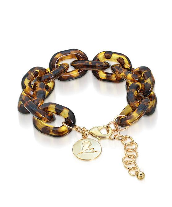 Tortoise Link Gold Bracelet