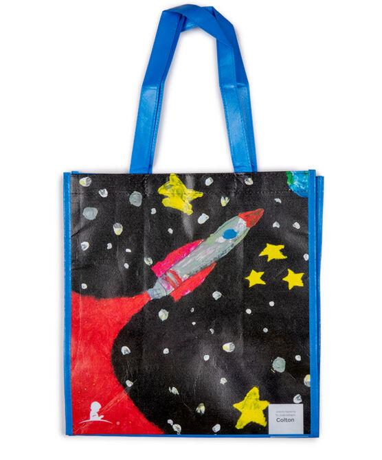 Patient Art-Inspired Spaceship Reusable Bag