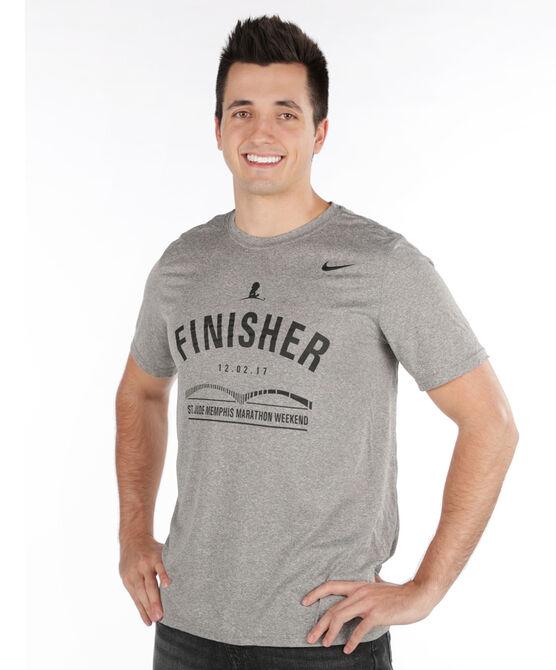 2017 Men's St. Jude Memphis Marathon Nike Finisher Shirt