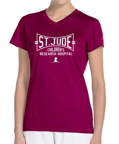 Women's New Balance Performance V-Neck T-Shirt
