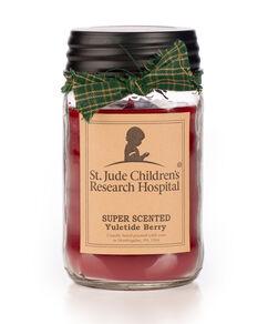 Yuletide Berry  Mason Jar Candle
