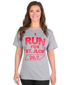 Womens 2018 St. Jude Memphis Marathon 26.2 Distance T-Shirt