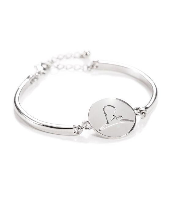 Silver Loose Bangle Bracelet