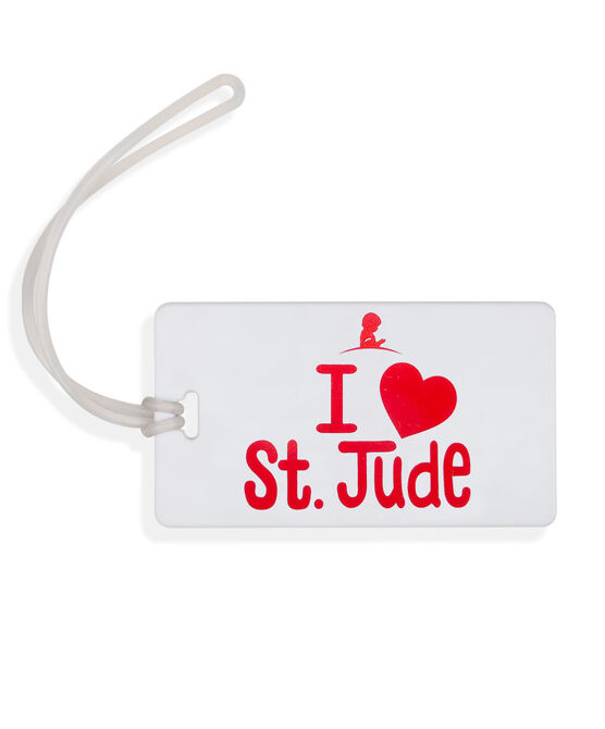 I Love St. Jude Luggage Tag
