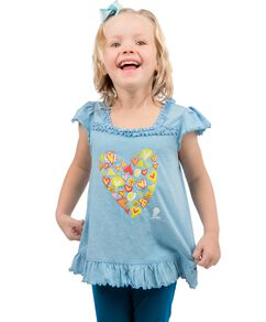 Toddler Hearts Collage Tee