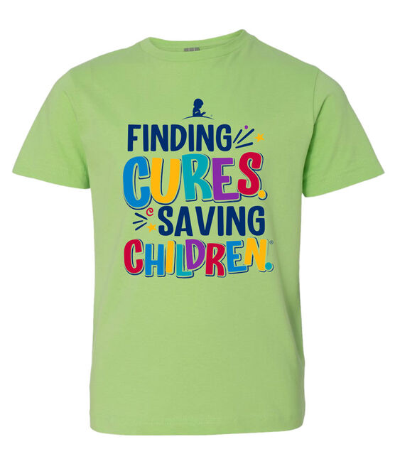 Youth Finding Cures Saving Children T-Shirt