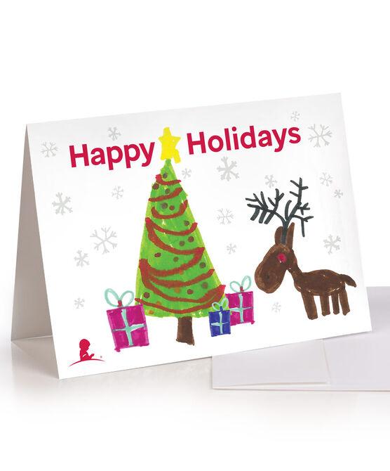 Tree & Reindeer Patient Art Honor Cards - Set of 5 Cards
