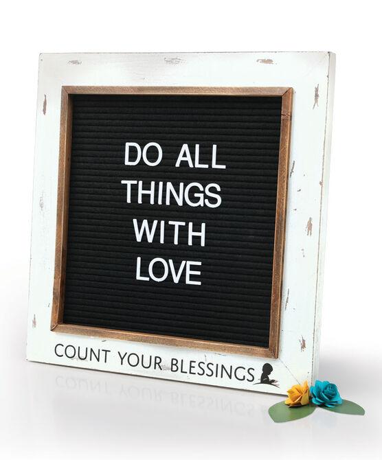 Blessings Framed Letter Board