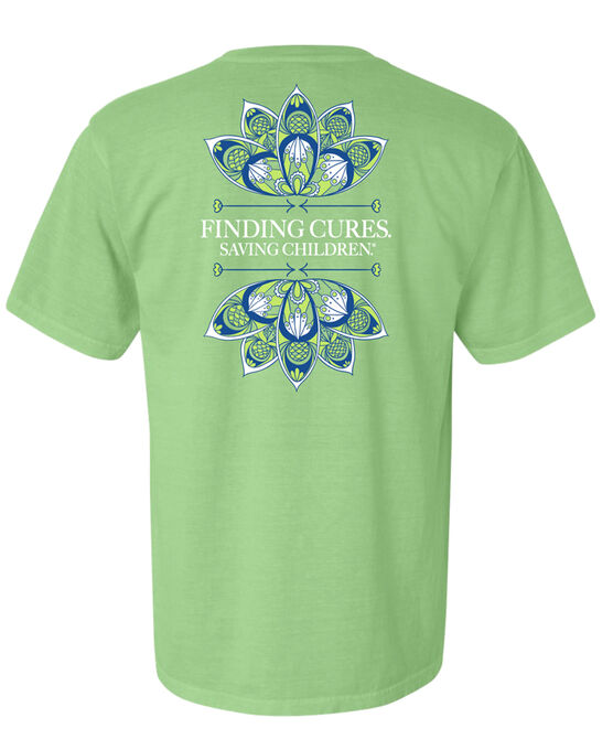 Ladies Finding Cures Tagline T Shirt