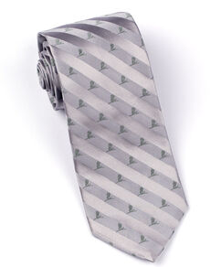 Brooks Brothers Tonal St. Jude Tie - Grey